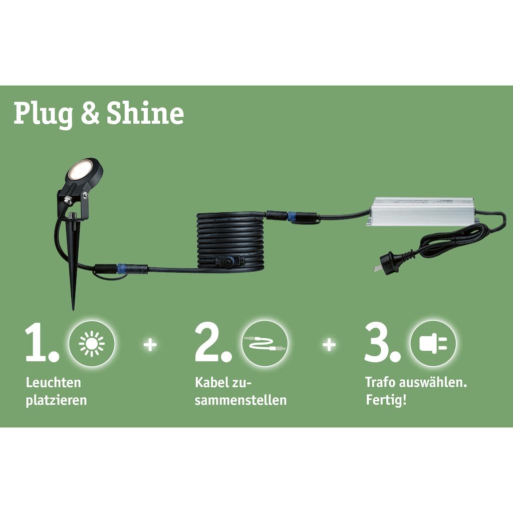 Paulmann LED Gartenstrahler »Outdoor Plug & Shine Ergänzungsset Spot Plantini«, 4 St., Warmweiß, 3000K