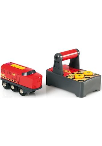 BRIO® Spielzeug-Eisenbahn »BRIO® WORLD IR Frachtlok«, mit Licht und SoundfunktionMade... kaufen