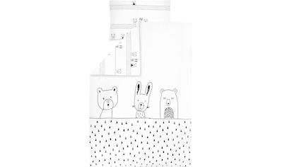 Julius Zöllner Kinderbettwäsche »Grobies«, mit Tieren kaufen