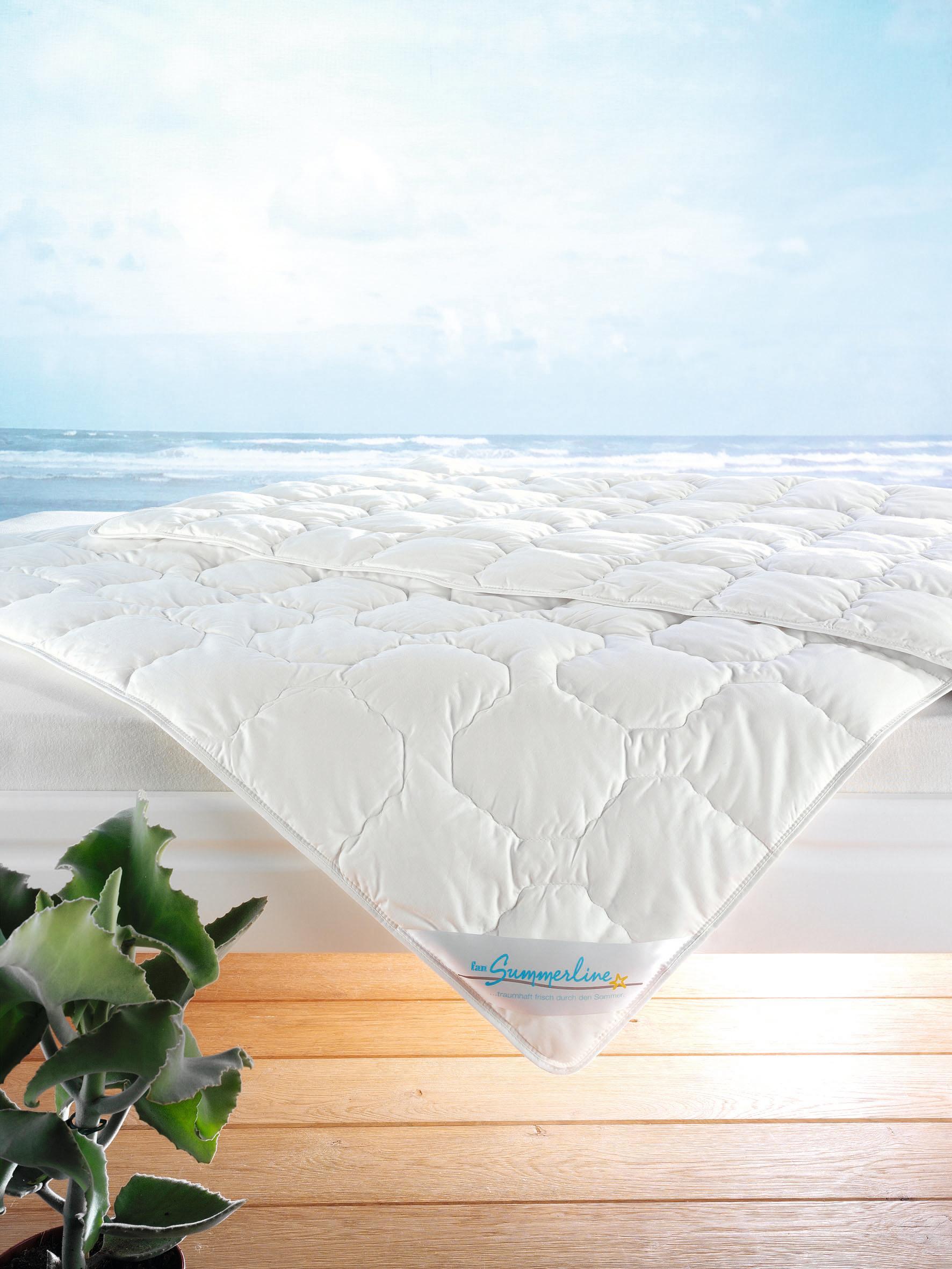 Leichtsteppbett Wash Cotton fan Summerline Leicht