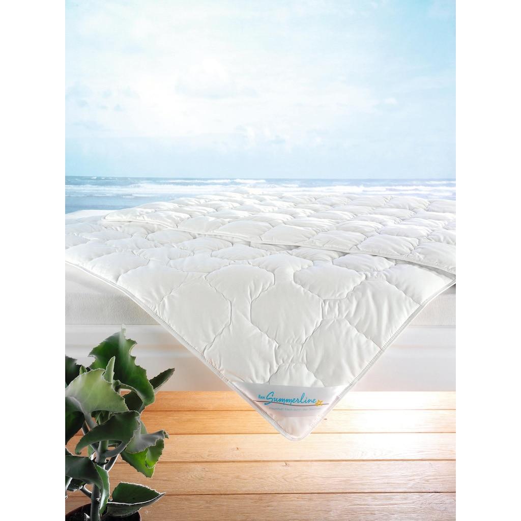f.a.n. Schlafkomfort Baumwollbettdecke »Wash Cotton«, leicht, Füllung Reine Baumwolle (100% Baumwolle), Bezug 100% Baumwolle, (1 St.)