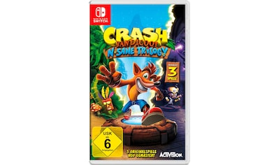 Crash Bandicoot N. Sane Triology Nintendo Switch kaufen