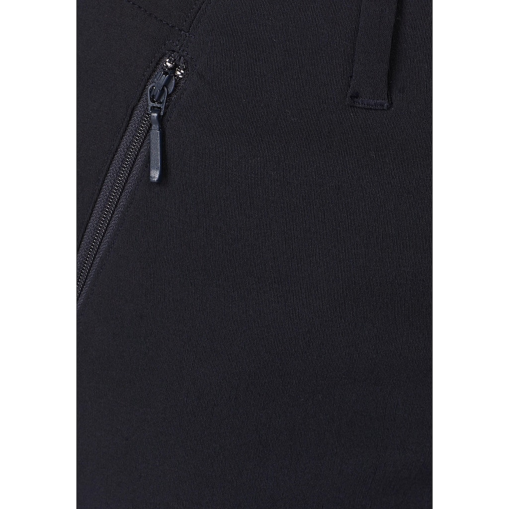 Aniston SELECTED Stretch-Hose, mit 2 Reißverschlusstaschen