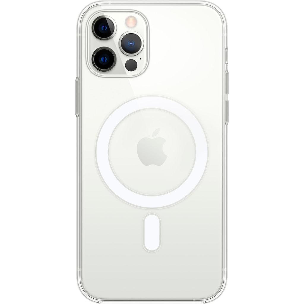 Apple Handyhülle »iPhone 12/12 Pro Clear Case with MagSafe«, 15,5 cm (6,1 Zoll)