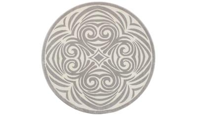 Teppich, »Kusma«, andas, rund, Höhe 11 mm, maschinell gewebt kaufen