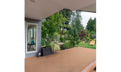 HOME DELUXE Terrassenplatten, WPC - Fliesen kaufen
