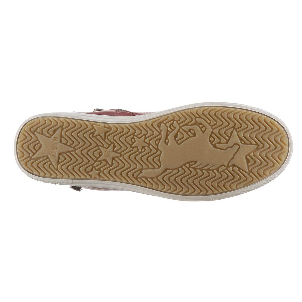 Mustang Shoes Sneaker, mit kleinem Zierreißverschluss