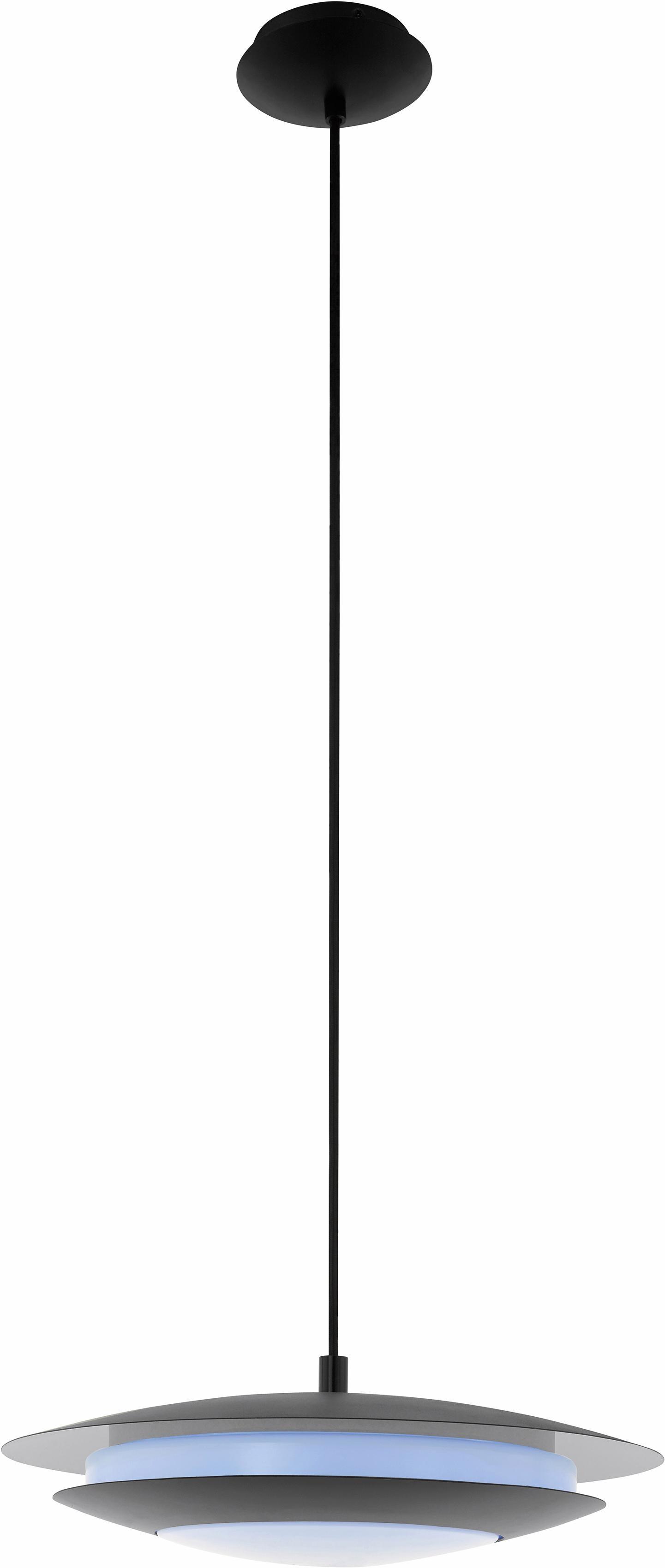 EGLO LED Pendelleuchte MONEVA-C, LED-Board, Neutralweiß-Tageslichtweiß-Warmweiß-Kaltweiß, Hängeleuchte, EGLO CONNECT, Steuerung über APP + Fernbedienung, BLE, CCT, RGB, dimmbar, Farbwechsel