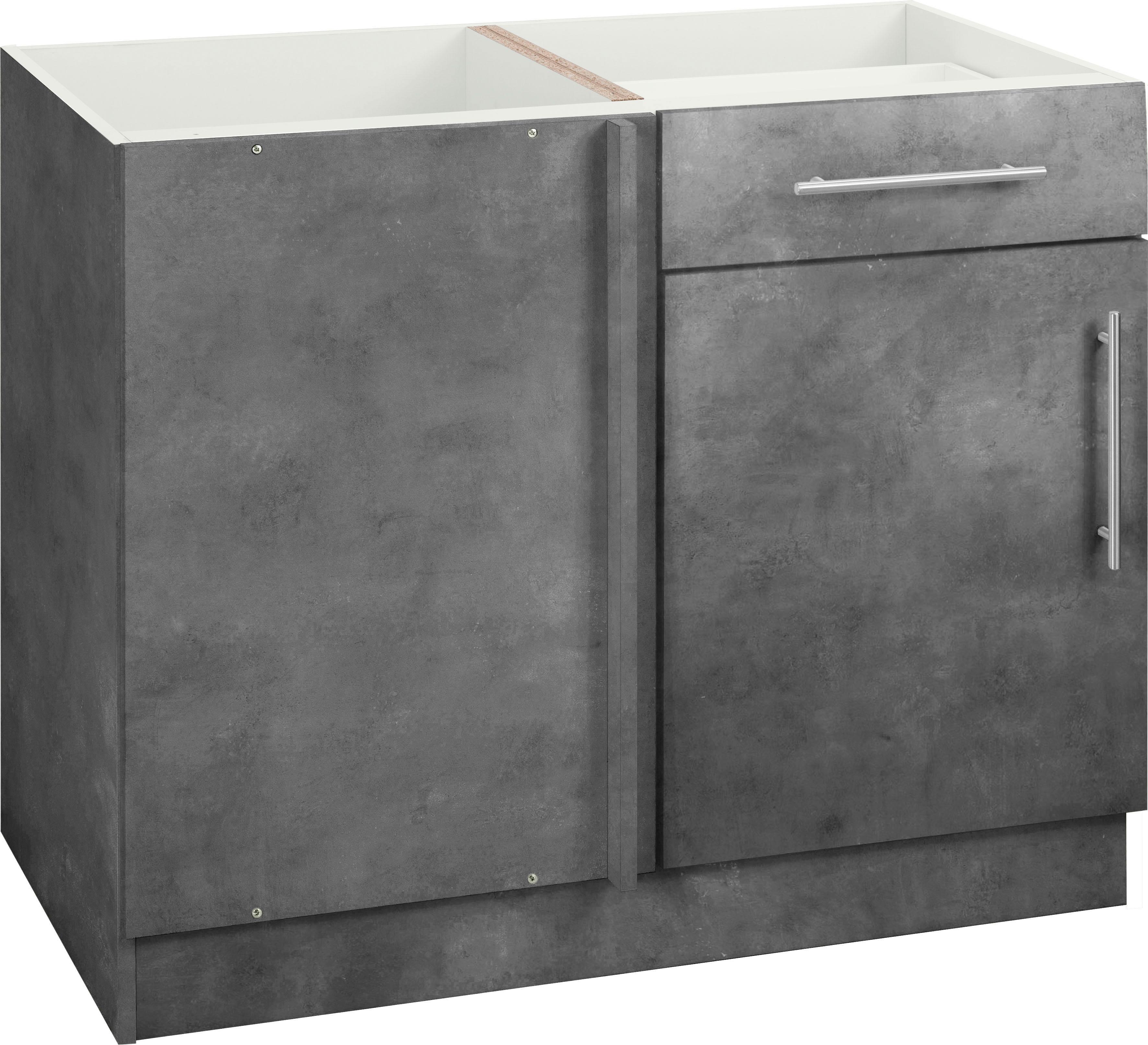 wiho Küchen Eckunterschrank Cali | Küche und Esszimmer > Küchenschränke > Küchen-Unterschränke | Wiho Küchen