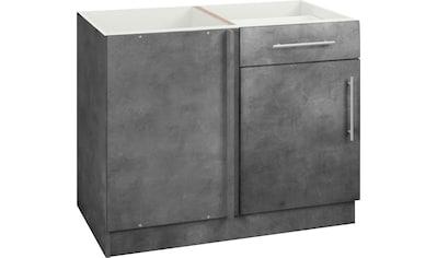 wiho Küchen Eckunterschrank »Cali«, 110 cm breit, ohne Arbeitsplatte kaufen