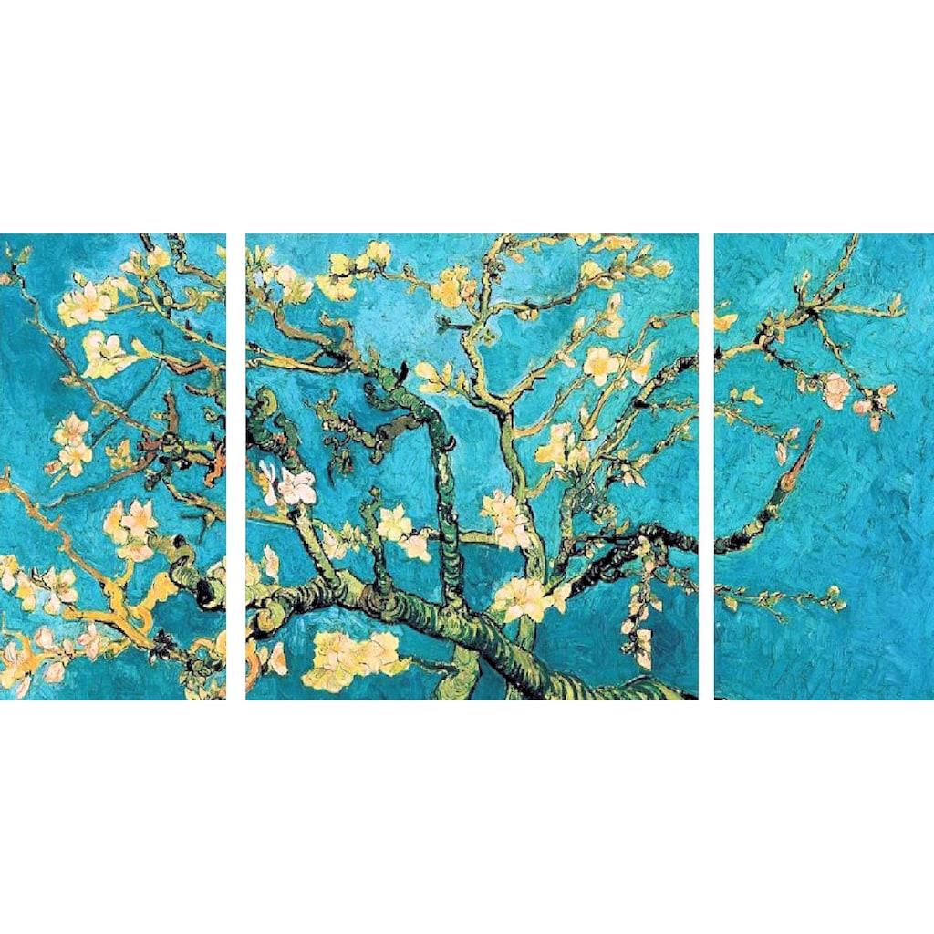 Home affaire Wandbild »Mandorlo in fiore«, (Set), 3-tlg. Set
