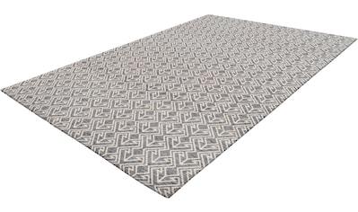 my home Teppich »Alessia«, rechteckig, 10 mm Höhe, wetterfest, Wohnzimmer kaufen