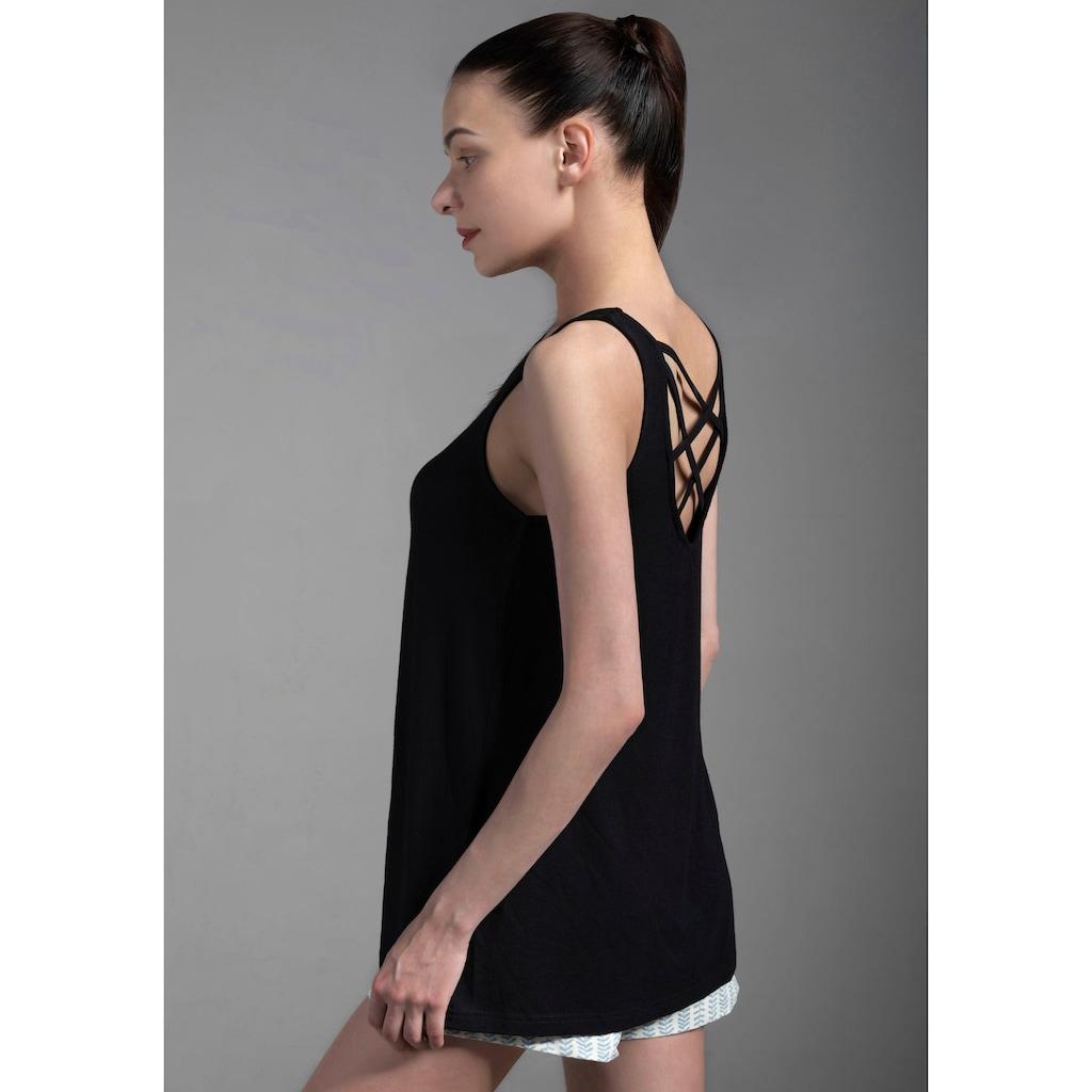 Ocean Sportswear Strandtop »Nachhaltige LENZING™ ECOVERO™ Viskose«, mit gekreuzten Bändern