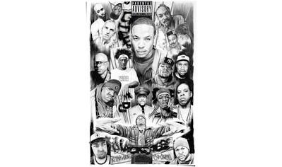 Reinders! Poster »Rap Gods 2«, (1 St.) kaufen