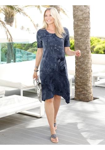 MIAMODA Kleid aus Batik -  und Paillettendruck kaufen