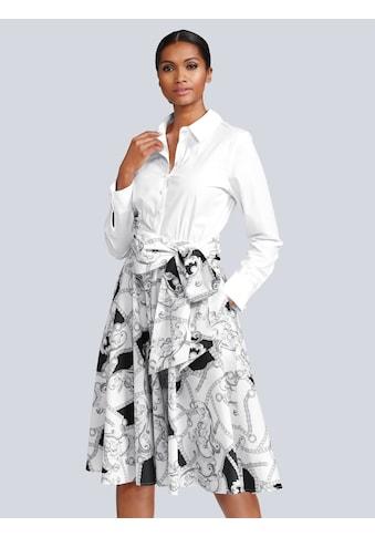 Alba Moda Kleid in modischer Blusenform kaufen