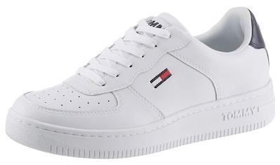 TOMMY JEANS Sneaker »WMNS TOMMY JEANS BASKET SNEAKER«, mit Ortolite Blue Foram Ausstattung kaufen