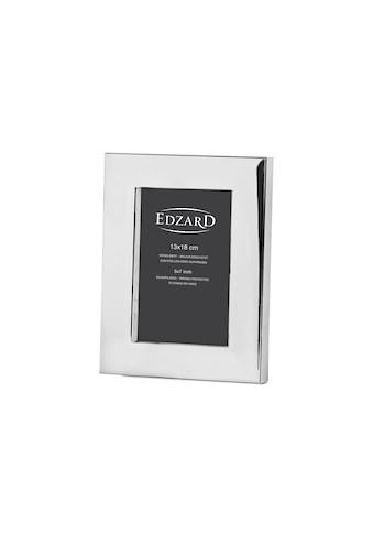 EDZARD Bilderrahmen »Udine«, versilbert und anlaufgeschützt, für 13x18 cm Foto -... kaufen