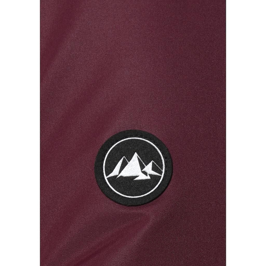 Polarino Skijacke, mit vielen praktischen Taschen