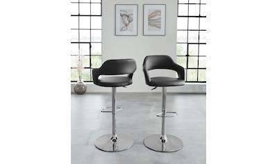 Duo Collection Barhocker »Barhocker Nampa«, 360°drehbar, stufenlos höhenverstellbar kaufen
