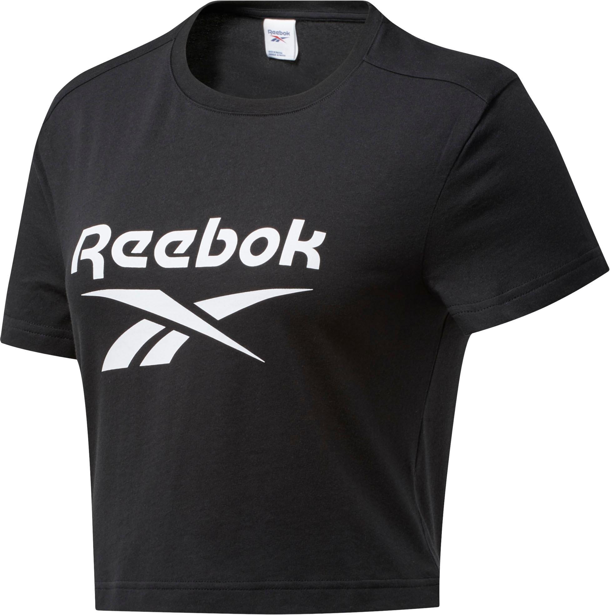 Reebok Classic T-Shirt CLASSIC BIG LOGO TEE schwarz Damen T-Shirts Shirts Sweatshirts