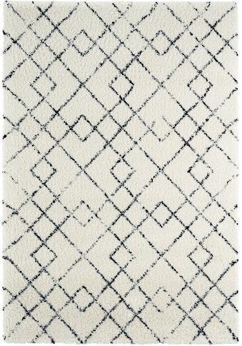 MINT RUGS Hochflor-Teppich »Archer«, rechteckig, 35 mm Höhe, besonders weich durch Microfaser, Wohnzimmer kaufen