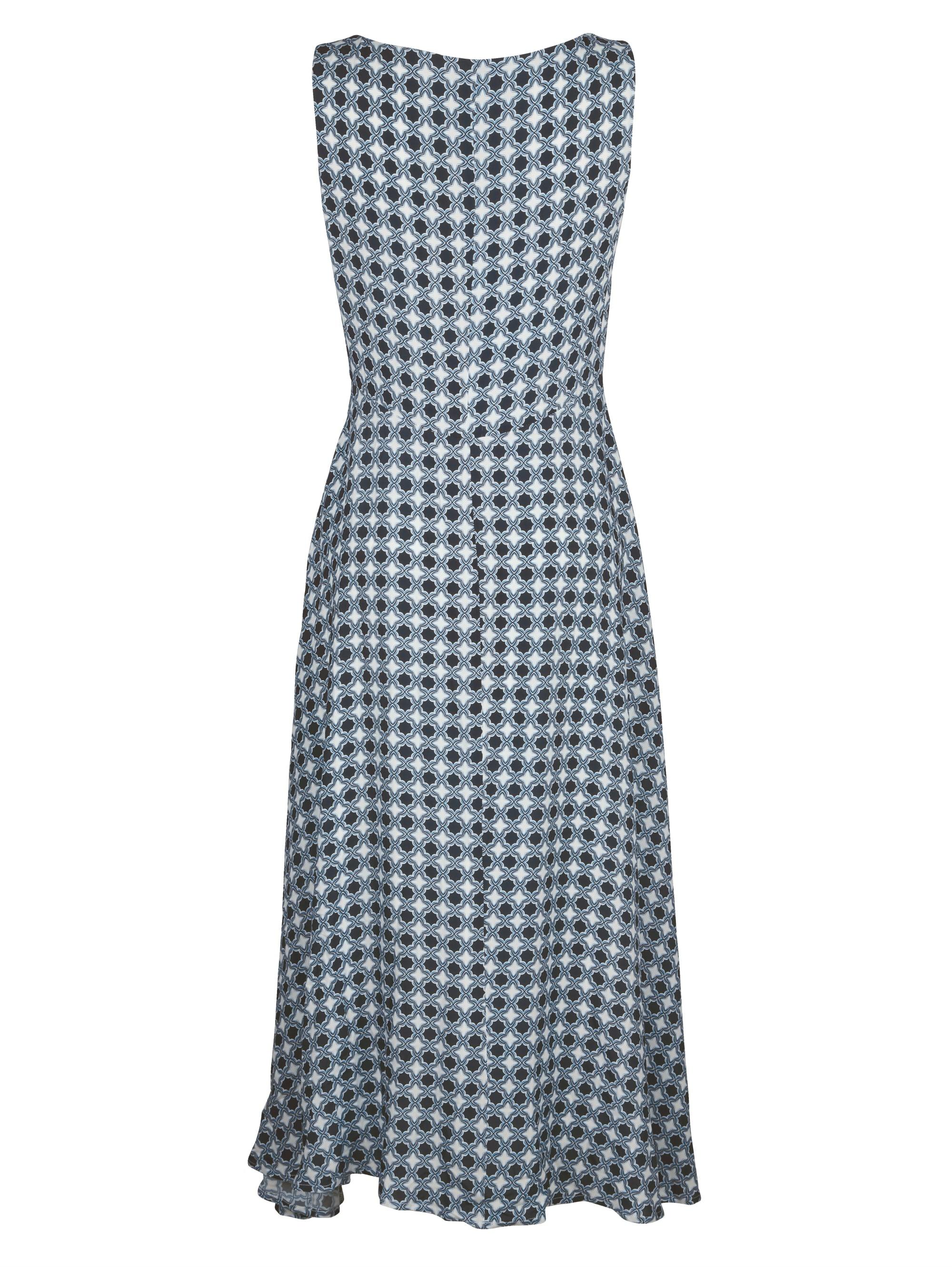 Alba Moda Kleid in figurumspielender Maxi-Länge