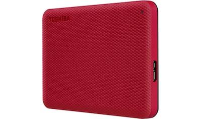 Toshiba externe HDD-Festplatte »Canvio Advance 1TB Red 2020« kaufen