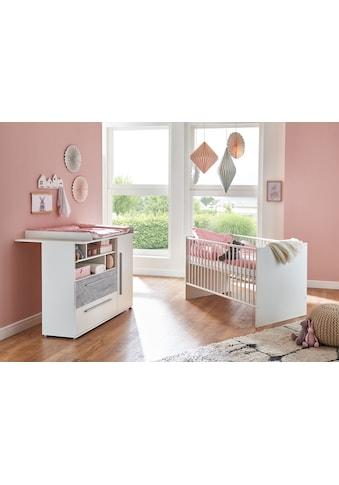 arthur berndt Babymöbel-Set »Rabia«, (Spar-Set, 2 St.), mit Kinderbett und... kaufen