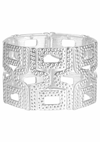 J.Jayz Armband »in gehämmerter Optik, Stretcharmband« kaufen