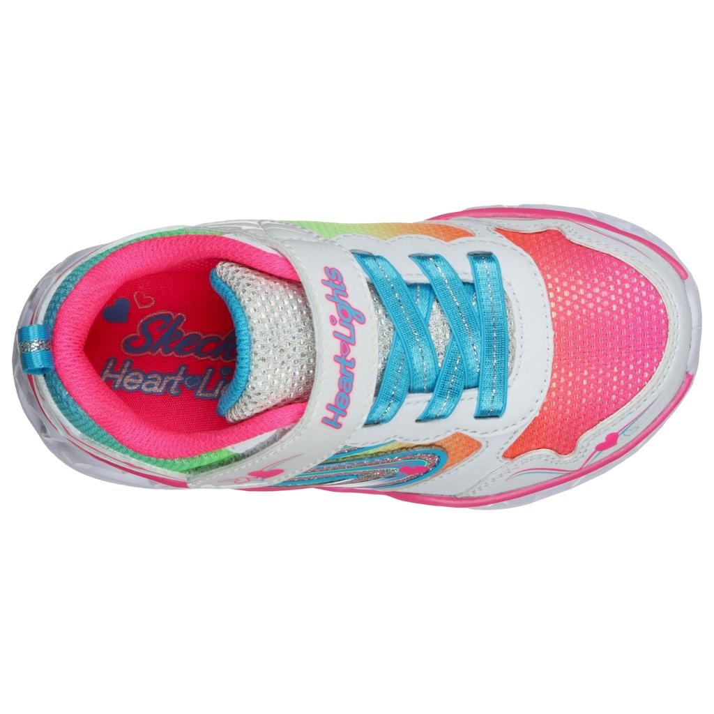 Skechers Kids Sneaker »HEART LIGHTS«, mit blinkender Laufsohle