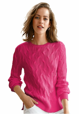 Looxent Strickpullover »aus 100% Supima®-Baumwolle«, mit Schlitz kaufen