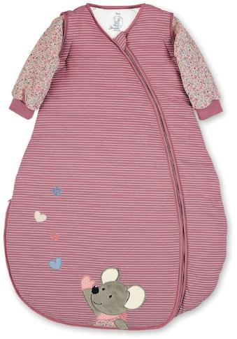 Sterntaler® Babyschlafsack »Mabel«, (1 tlg.), 2 Wegereißverschluss, wattiert aus... kaufen
