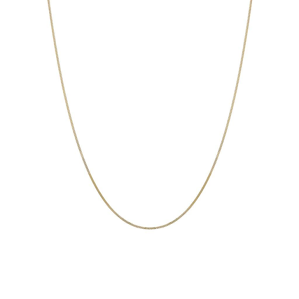 Elli Collierkettchen »Basic-Kette 585 Gelbgold«