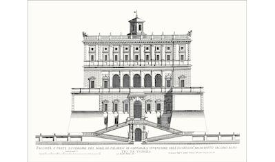 G&C Wandbild »VILLA CAPRAROLA I«, (1 St.) kaufen