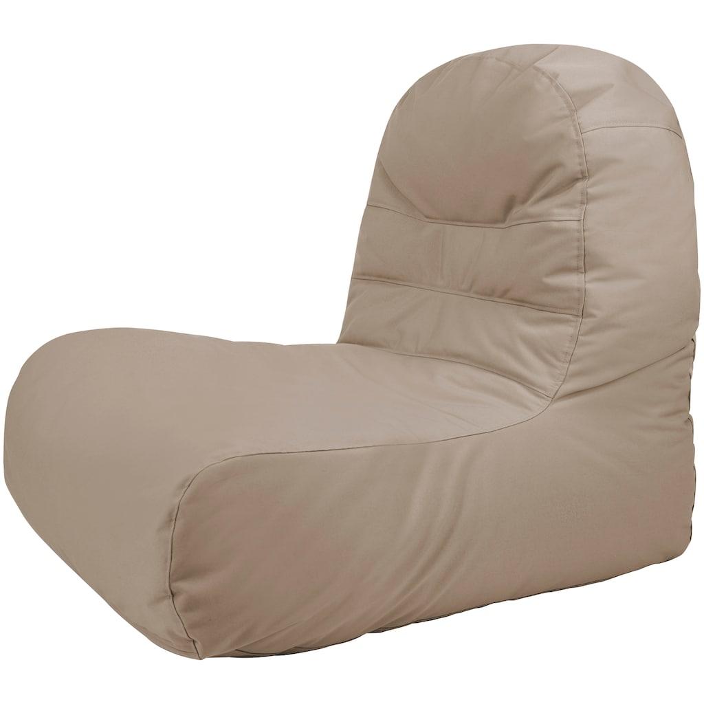 OUTBAG Sitzsack »Bridge Plus«, für den Außenbereich, BxT: 65x95 cm