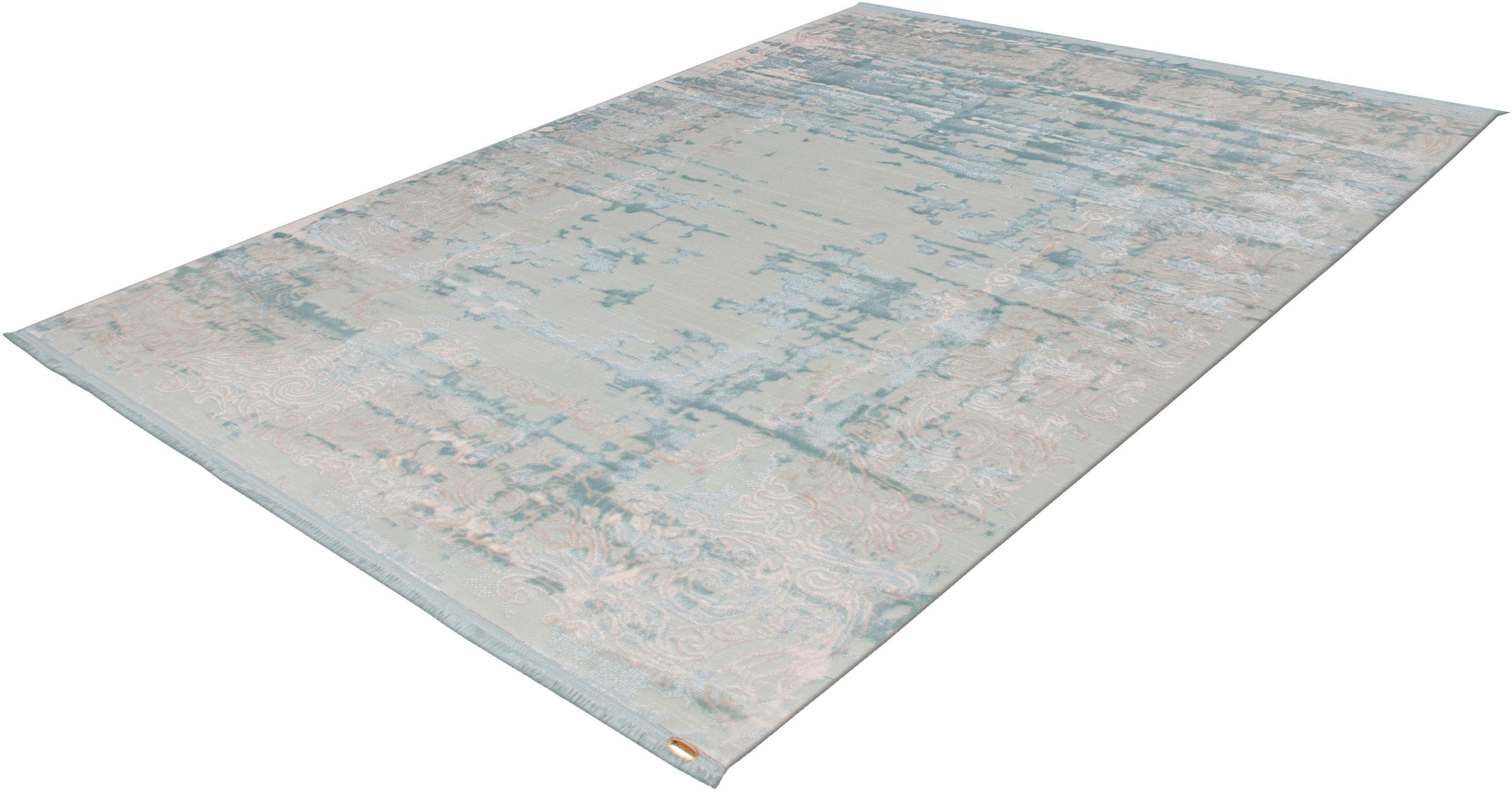 Teppich Texsa 355 calo-deluxe rechteckig Höhe 15 mm maschinell gewebt