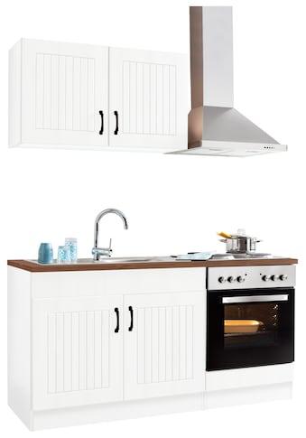 Küchenzeile »Athen«, mit E - Geräten, Breite 160 cm kaufen