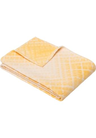 IBENA Wohndecke »Malango«, im Zickzack-Muster kaufen