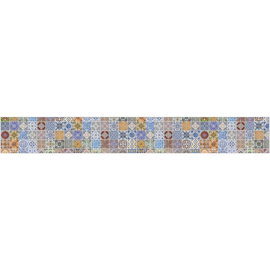MySpotti Küchenrückwand »fixy Pablo Fliese«, selbstklebende und flexible Küchenrückwand-Folie