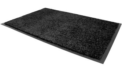 Primaflor-Ideen in Textil Fußmatte »VERONA«, rechteckig, 9 mm Höhe, Fussabstreifer, Fussabtreter, Schmutzfangläufer, Schmutzfangmatte, Schmutzfangteppich, Schmutzmatte, Türmatte, Türvorleger, In- und Outdoor geeignet, waschbar kaufen