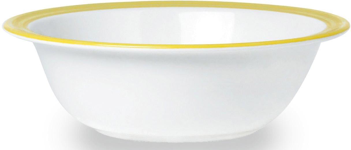 WACA Schüssel Melamin (2-tlg) Wohnen/Haushalt/Haushaltswaren/Kochen & Backen/Schüsseln/Plastikschüsseln