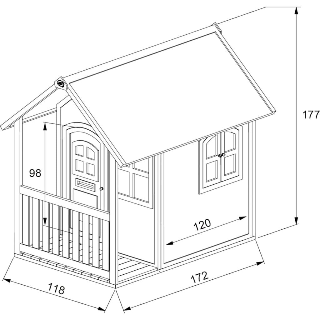 AXI Spielhaus »Alex«, BxTxH: 137x191x178 cm