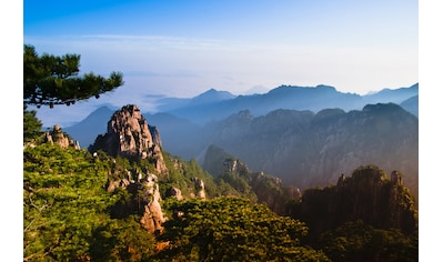 Papermoon Fototapete »Berg Huangshan«, Vliestapete, hochwertiger Digitaldruck kaufen