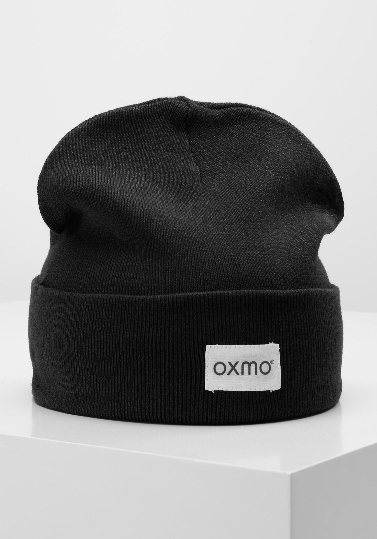 oxmo -  Beanie Biene, Strickmütze mit Logobadge