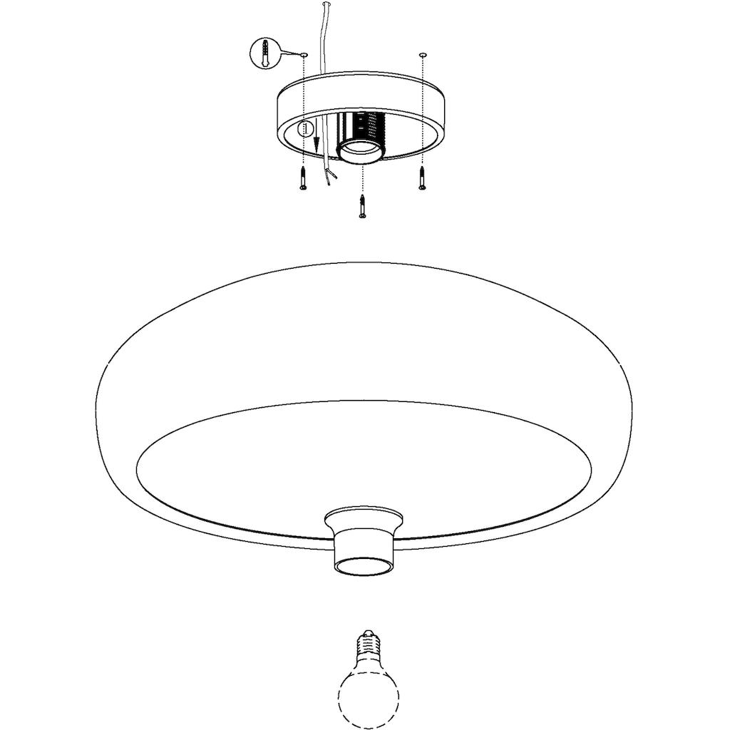 EGLO Deckenleuchte »MOGANO«, E27, Deckenlampe