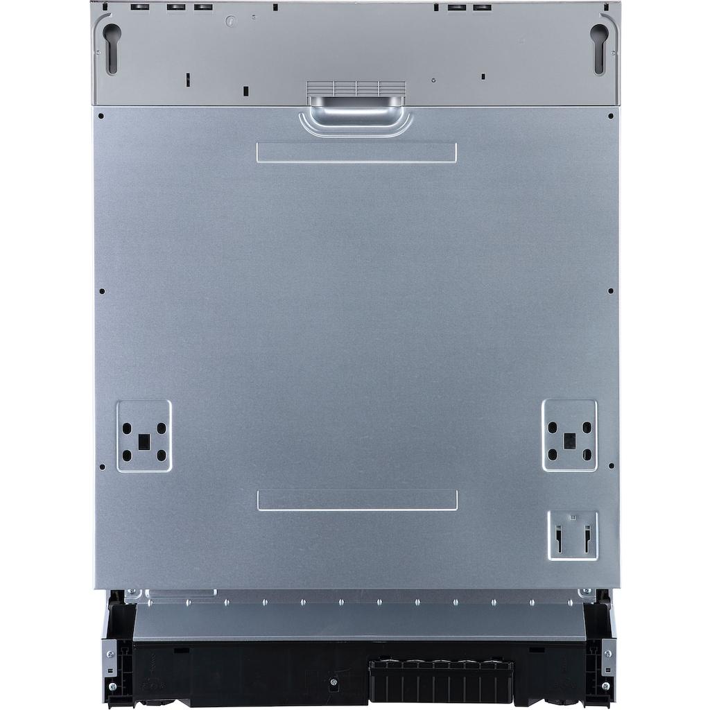 Hanseatic vollintegrierbarer Geschirrspüler »HGVI6082D127711DS«, HGVI6082D127711DS, 12 Maßgedecke
