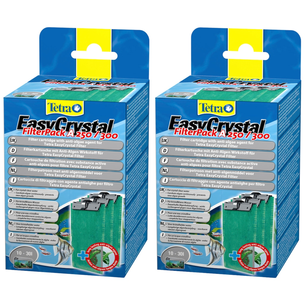 Tetra Ersatzfilter »EasyCrystal Filter Pack«, 2-er Set