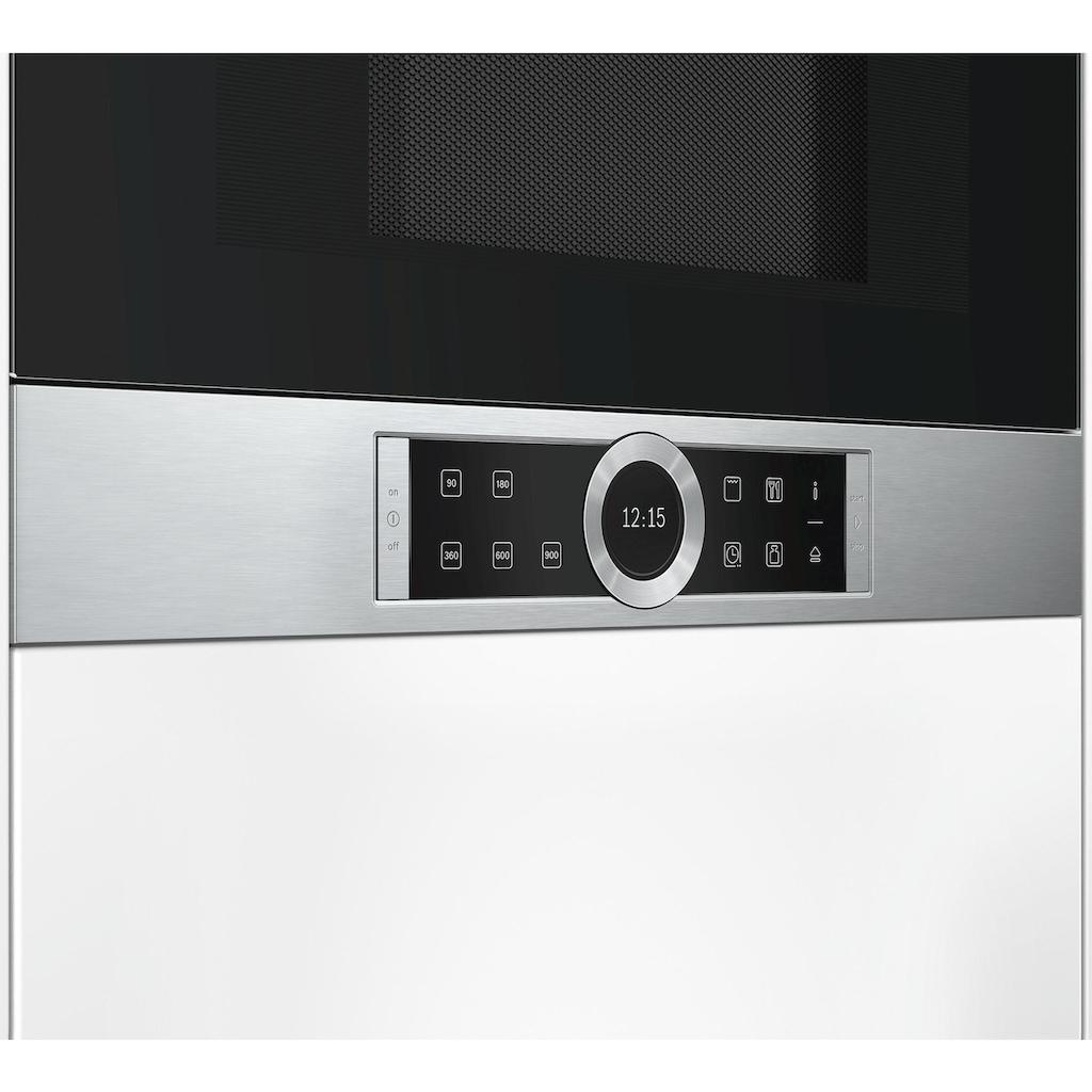 BOSCH Einbau-Mikrowelle »BEL634GS1«, Grill-Mikrowelle, 1260 W