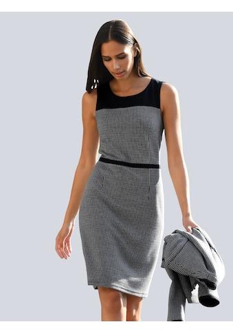 Alba Moda Druckkleid, mit uni abgesetztem Schulterbereich kaufen